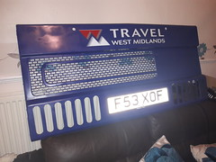 Tracline radiator grille finished! (because_stickers) Tags: westmidlandstravel wmpte tracline preservedbus 3053 f53xof mcw metrobus mk2a