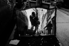 encounters. (jonathancastellino) Tags: selfportrait queen toronto mirror jono leica q street series