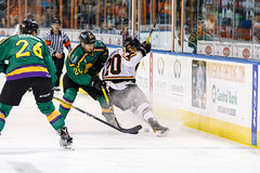 "Missouri Mavericks vs. Quad City Mallards, January 21, 2017, Silverstein Eye Centers Arena, Independence, Missouri.  Photo: John Howe / Howe Creative Photography • <a style=""font-size:0.8em;"" href=""http://www.flickr.com/photos/134016632@N02/32527848415/"" target=""_blank"">View on Flickr</a>"