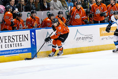 "Missouri Mavericks vs. Wichita Thunder, February 3, 2017, Silverstein Eye Centers Arena, Independence, Missouri.  Photo: John Howe / Howe Creative Photography • <a style=""font-size:0.8em;"" href=""http://www.flickr.com/photos/134016632@N02/32561331832/"" target=""_blank"">View on Flickr</a>"