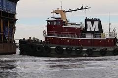 Tug On Saint Johns (bMi2fotografx) Tags: industry assist move work jacksonville saintjohns push river barge tug