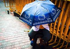 Hello Kitty 🙀 (-Faisal Aljunied-) Tags: streetphotography singapore umbrella hellokitty ricohgr faisalaljunied streetlife