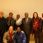 Center for African Studies faculty and graduate students with Du Bois lecturer Professor Campbell, Spring 2012