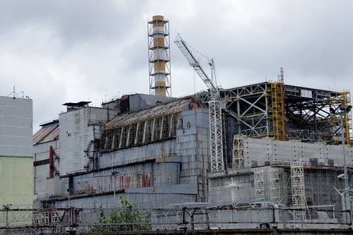 Unit 4 Sarcophagus - Chernobyl