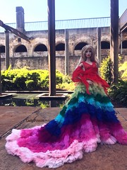 Inspired by Alexander McQueen rainbow ss03 #hautecouture #alexandermcqueen #dress #fashionroyalty #fashionroyaltydoll #fashiondoll #integritytoys #integritytoysdoll #dolldress #doll #toy #highfashion #brandname #runway #magazine #photograph #fashionshow (Lady~PoiSon24) Tags: heautcouture alexandermcqueen dress fashionroyalty fashionroyaltydoll fashiondoll integritytoys integritytoysdoll dolldress doll toy highfashion brandname runway magazine photograph fashionshow