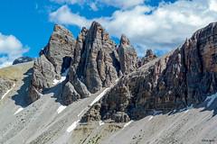 Sexten Dolomites (Robert J Heath) Tags: sesto sexten moos moso altoadige altapusteria italy mountain rocks rocky ridge arete summit pinnacles landscape alps sancandido innichen