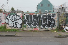 Peace (CMA, US), Volgr (KI) (nobammermane) Tags: peace cma volgr ki oakland eastbay bayarea graffiti