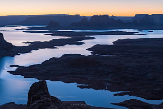 Dawn Over Lake Powell