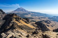 Popocatepetl (Empty Quarter) Tags: sony a7r 2470 f4 iztapopo iztacchiuatl popocatepetl popo izta mexico volcano mount mountain landscape highcamp basecamp