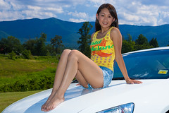 Mei - 2004 (Chris-Creations) Tags: mei pretty chinese asian woman girl feet sitting shortshorts car honda accord model feminine femme fille attractive sweet cute beauty lovely amateur wife gorgeous beautiful glamour modeling sexy hair 女孩 女人 mujer niña 性感 женщина esposa petite 妻子 piernas lady 20050904131