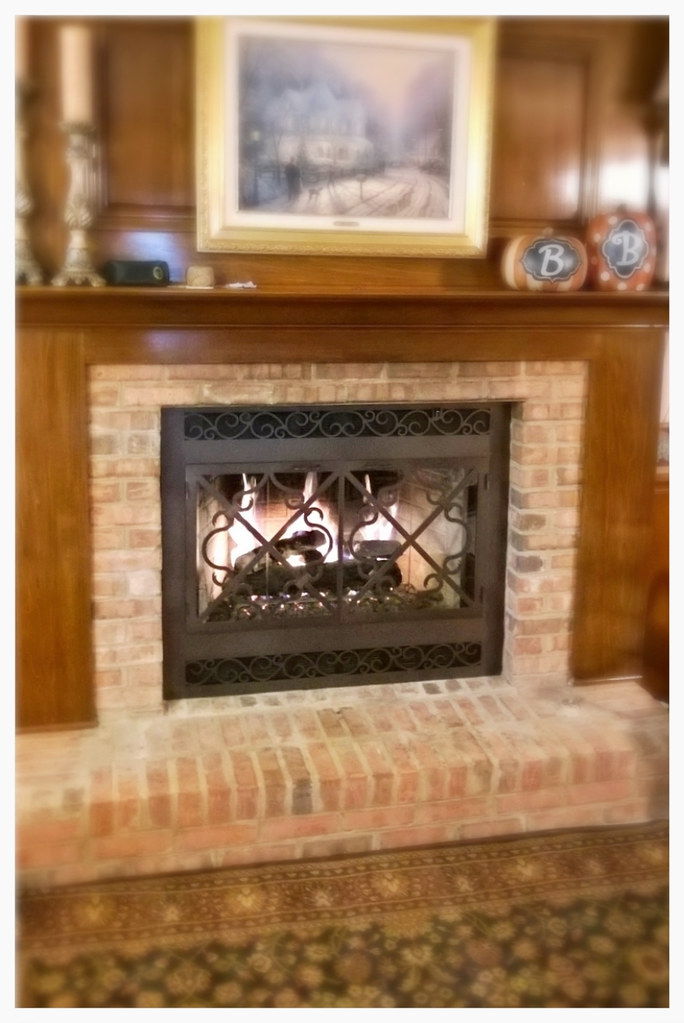 Design Specialties custom fireplace doors. Signal Mtn. Tn.