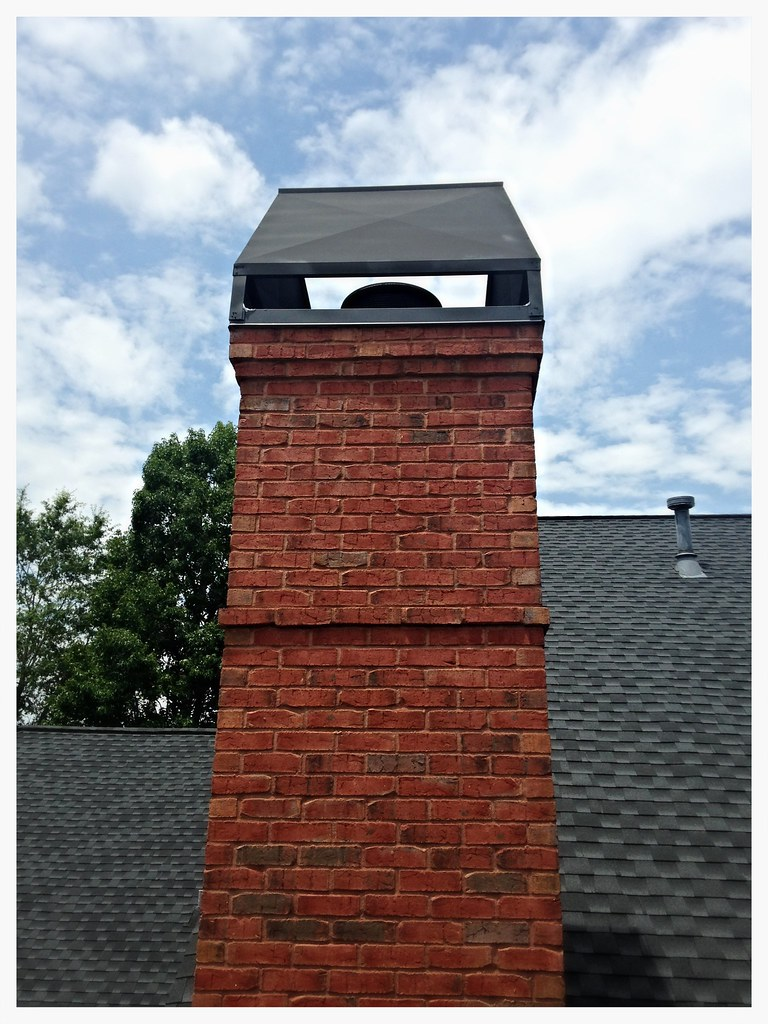 Custom Chimney Chase Top. Chattanooga, Tn.