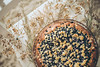 mu-1 (annieveliinablogi) Tags: ruokakuvat leipominen mustikkapiirakka