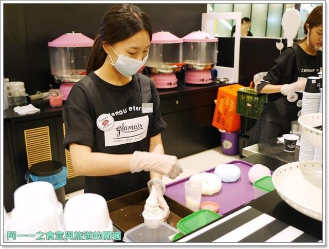 台中新光三越美食glamair彩虹棉花糖冰淇淋韓國首爾image008
