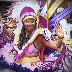 Pretty In Purple. (Cycling Saint) Tags: people portraits leicester caribbeancarnival nikond600nikkor70300f456
