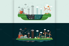 @Decorwithme : #Landscape #Illustrations http://t.co/GnlWDKnZrj #ecology #nature #eco #environment #vector #art #digitalart #design http://t.co/hNJsMacaAs (jdubr) Tags: life cloud sun plant abstract tree green nature ecology windmill animal set modern illustration digital landscape design solar energy industrial factory flat graphic natural symbol wind background web environmental bio icon system collection generator website pollution planet environment unusual organic concept waste circulation eco vector element infographics ecosystem infograph twitter ifttt solarcellbattery