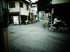 traditional rural town in Japan (-ICHIRO) Tags: street digital snap gr iv ricoh