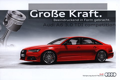Audi A6 3.0 TDI competition, Grosse Kraft. 2014 (World Travel Library) Tags: world travel cars car 30 by ads tdi photography drive photo model automobile gallery ride image photos library go wheels transport galeria models picture competition automotive center literature collection german papers online vehicle motor makes collectible collectors audi sales brochures catalogue  documents a6 kraft fahrzeug collezione coleccin 2014 motoring grosse wagen automobil  sammlung prospekt dokument katalog assortimento recueil worldcars worldtravellib