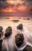Mojacar (Carlos J. Teruel) Tags: sea cloud rock sunrise mar nikon mediterraneo amanecer nubes almeria rocas inverso mojacar marinas 1835 filtros gnd nikon1835 xaviersam carlosjteruel d800e nikonafsnikkor1835mmf3545ged