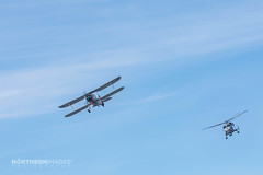 Fairey Swordfish and Westland Lnxy (Northern Images Photography) Tags: world show fish photography aiden pair air first images airshow helicopter fairy sword fairey ww1 wat northern westland southport lynx swordfish 2015 wellock synco