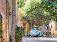 Streets of Chania (GillWilson) Tags: greece crete chania celebrityreflection
