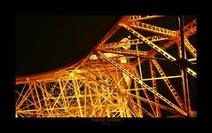 Tokyo Tower (richieb56) Tags: life city travel light urban tower japan architecture night dark point tokyo noche view angle nacht sightseeing nat po turm nuit gebude interest eifelturm natt malam noc y ntt  gece  wahrzeichen  sehenswrdigkeit m       lannwit p