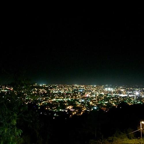 Looking south from San Fernando Hill, #Trinidad.