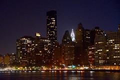 Why hello, you beauty (Huey Yoong) Tags: city newyorkcity nightphotography urban usa skyline america skyscraper reflections lights nightimages unitedstatesofamerica eastriver handheld northamerica metropolis chryslerbuilding bigapple rooseveltisland eastcoast nikond600 nikkor28300mmvr