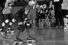 skulls_vs_scars_L1063251 1 (nocklebeast) Tags: ca usa santacruz rollerderby rollergirls skates sugarskulls groms juniorderby bumperscars santacruzderbygroms