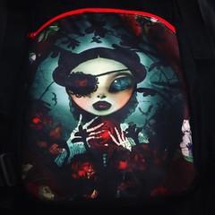 กระเป๋านักเรียน อิอิ >_< 🌹🎒 #schoolbag #bag