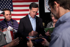 Rick Santorum with supporters (Gage Skidmore) Tags: party opportunity fairgrounds state pennsylvania senator president rick iowa growth republican caucus 2016 santorum
