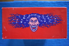 Devil Girl Choco-Bar Display Box Side Panel (Donald Deveau) Tags: robertcrumb devilgirl