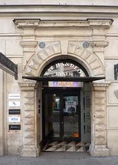 Krakov, Rynek (46) (ladabar) Tags: doorway portal kraków cracow cracovia krakau krakov dveře portál