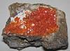 Crocoite (Adelaide Mine, Zeehan District, Tasmania) 1 (James St. John) Tags: mine district minerals mineral tasmania adelaide dundas lead crocoite chromate zeehan chromates