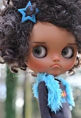 Happy Sunday (Lawdeda ❤) Tags: love outside happy doll sunday tan her much blythe custom tbl grumpy fro adorableness littledollsroom