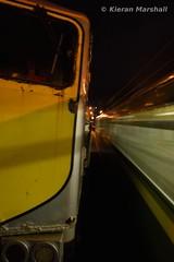 072 passes Sandycove, 12/12/15 (hurricanemk1c) Tags: irish train gm rail railway trains railways irishrail generalmotors sandycove 2015 emd 071 072 iarnród santaspecial éireann iarnródéireann 1643pearsegreystones