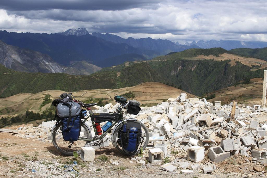 中国福建省シャングリラ 標高3300m