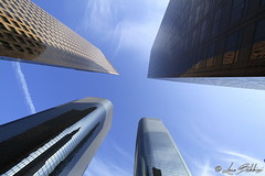 Up In The Sky (Luca Bobbiesi) Tags: losangeles street architecture perspective pov downtown california usa skyscraper canoneos7d canonefs1022mmf3545usm