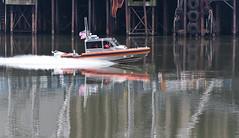 U.S. Coast Guard Willamette River Patrol (Orbmiser) Tags: 70300vr d90 nikon oregon portland winter willametteriver boat patrol uscoastguard