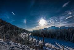 morants (Christy Turner Photography) Tags: sundog morantscurve alberta banff sunhalo