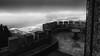 castello di erice (TP) (sga77) Tags: castello castle trapani view italy panorama landscape cloud rain fog sea water erice monochrome