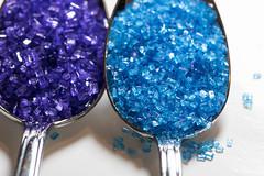 A Spoon full of sugar (or two) (WilliamND4) Tags: macromondays inspiredbyasong purple blue sugar macro sweet tokina100mmf28atxprod
