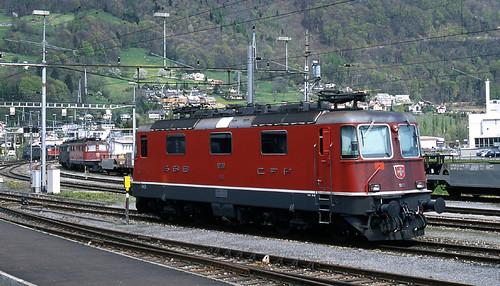 R12812.  Re4/4 II at Sargans.