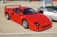 Ferrari F40 Silverstone 23-09-16 (IanL2) Tags: passioneferrari ferrari f40 silverstone supercar worldcars