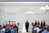 Ceremony backdrop, ivory chiffon wall (avantdecor) Tags: 2012 chaska hazeltinenational june mn wedding