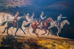 The Posse (Serendigity) Tags: lincoln wildwest art museum usa painting unitedstates historic town newmexico