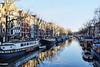Amsterdam. (alamsterdam) Tags: amsterdam brouwersgracht architecture canal boats reflections bridge