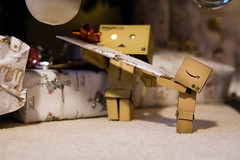 Christmas Delivery (Ed Swift) Tags: present amazon decorations 1835mmf18 danboard sigma reindeer revoltech sigma1835mmf18art rudolf danbo canon christmaspresent 7d2 1835mmf18art