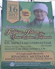 Kajian Islam & Sholat Dzuhur bersama Aa Gym dalam Rangka peringatan Maulid Nabi Muhammad SAW. Senin , 16 Januari 2017 , Jam : 11.00 s/d selesai, Tempat : Lingkungan Mushola Riyadhul Multazam, Komp. Puspa Regency - Ciracas- Kota Serang - Banten. #kajianisl (kotaserang) Tags: ifttt instagram kajian islam sholat dzuhur bersama aa gym dalam rangka peringatan maulid nabi muhammad saw senin 16 januari 2017 jam 1100 sd selesai tempat lingkungan mushola riyadhul multazam komp puspa regency ciracas kota serang banten kajianislam maulidnabi kotaserang moslem muslim indonesia httpkotaserangcom