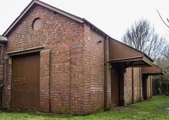 REAR OF FORMER HALTON STATION (I.K.Brunel) Tags: lune halton goodsshed railwaystation bricks doorway
